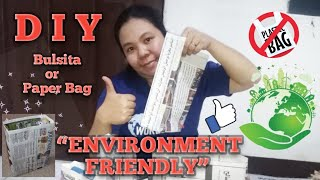 HOW TO MAKE PAPER BAGS | DIY BULSITA