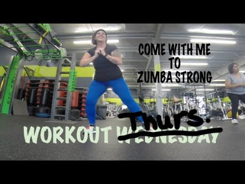 Workout Weds..... I mean Thursday: Zumba Strong