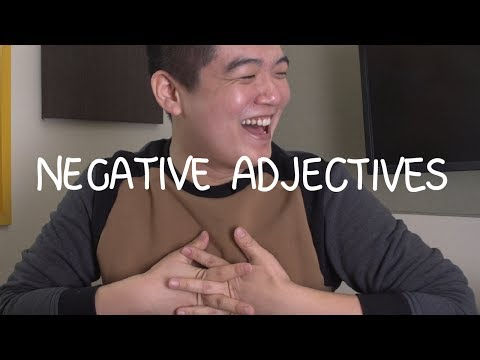 Weekly Korean Words with Jae - Negative Adjectives