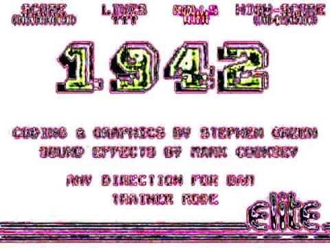 C64 1942 music