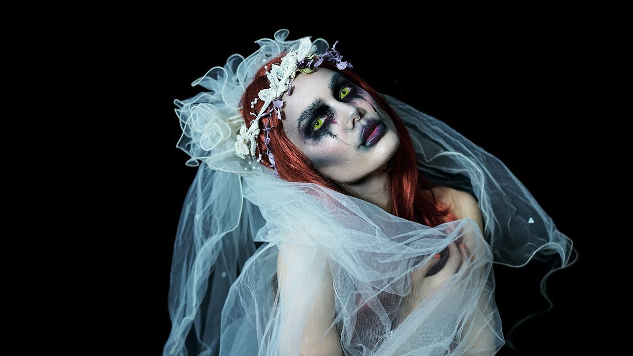 HALLOWEEN TUTORIAL | RUNAWAY BRIDE - YouTube