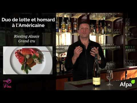 Accord met & vin - Duo lotte et homard à l'américaine