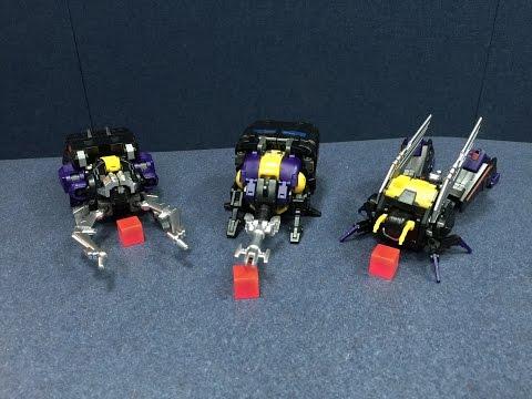 BadCube Evil Bug Corps - CLAYMORE, HYPNO, and KICKBUTT