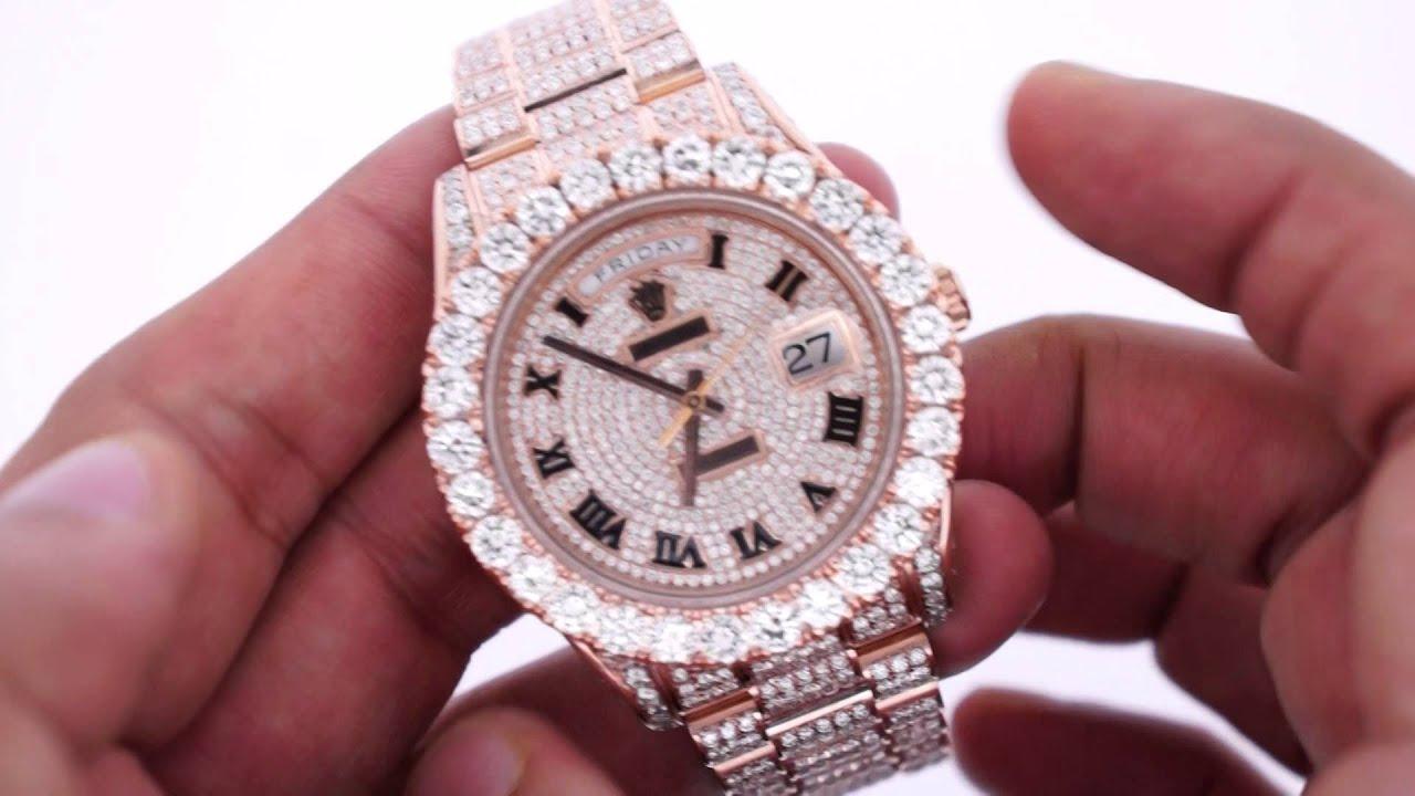 rolex day date ii 2 president 41mm watch rose gold 33