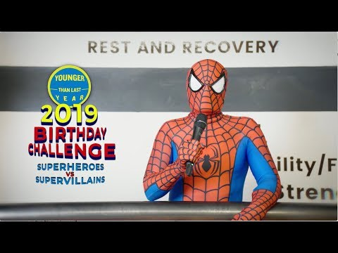 2019 Birthday Challenge: Superheroes vs. Supervillains