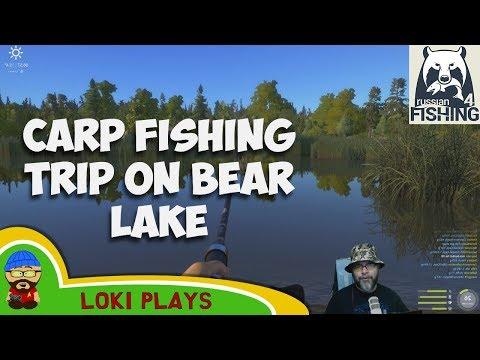 Carp fishing trip on Bear Lake - Russian Fishing 4