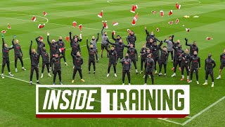 Inside Training: Reds get into Christmas spirit at AXA Training Centre