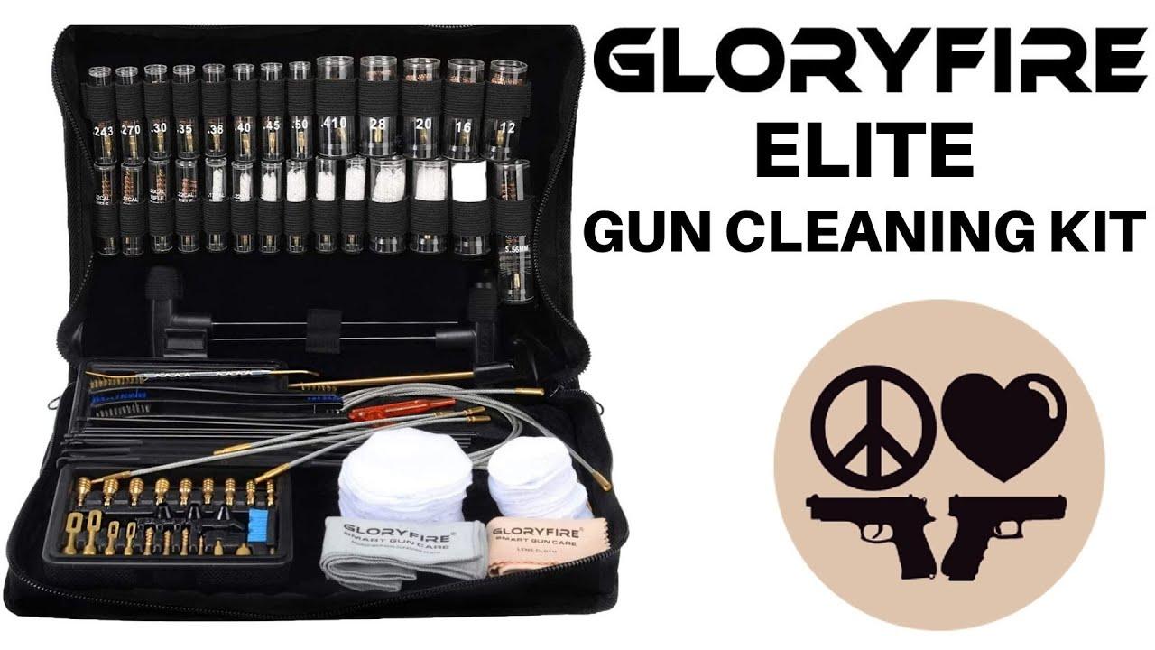 Gloryfire Elite Gun Cleaning Kit Review Video
