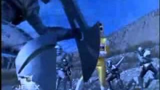 Power Rangers In Space - Shell Shocked - Teenage Mutant Ninja Turtles Teamup Battle