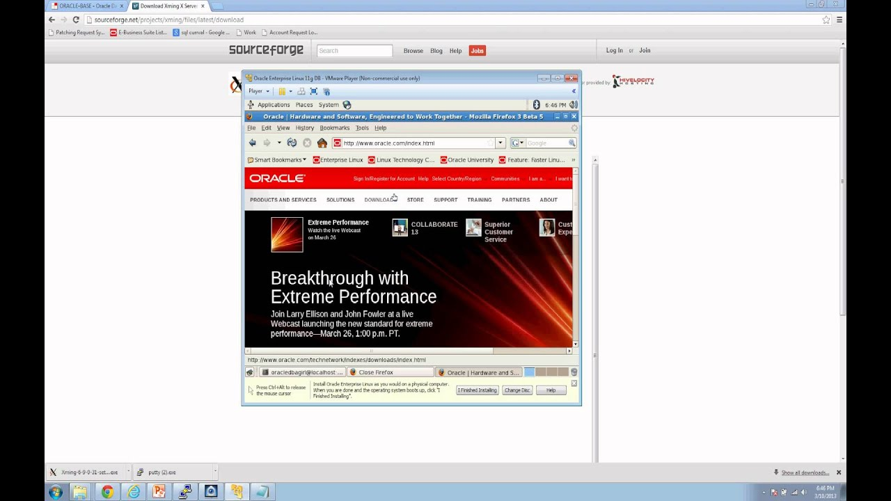 installer oracle asm linux youtube