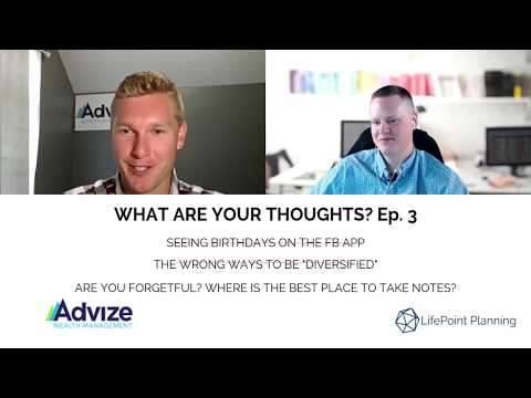 WHAT ARE YOUR THOUGHTS? Ep. 3