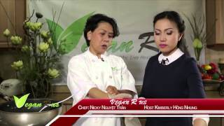 Trong chương trình NẤU ĂN CHAY kỳ này, chuyên gia ẩm thực Nicky Ngu...