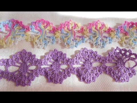 En crochet o ganchillo tiara - diademas- vincha - para bebe paso a ...
