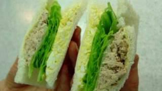 サンドイッチ-ツナ卵サンドの作り方(レシピ)