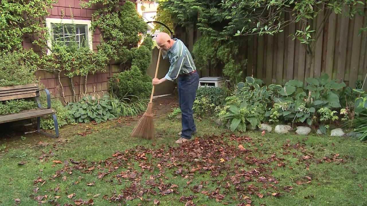 The original garden broom youtube for English garden tools yeah yeah yeah