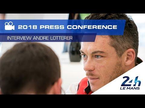 """24 Heures du Mans 2018 - André Lotterer : """"Une équipe commando"""""""