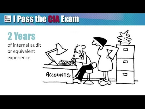 Certified Internal Auditor: CIA Exam Eligibility