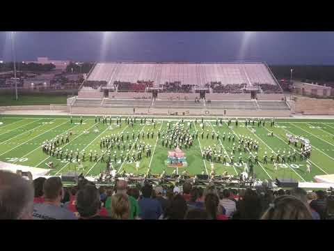 """Cedar Park 2018 """"On With The Show"""" at Leander Festival of Bands 10-1-2018"""