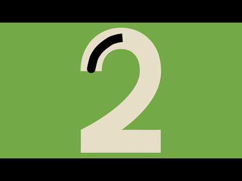 Números de 0 a 9 - trabalhado a caligrafia- Método Montessoriano - Link na descrição