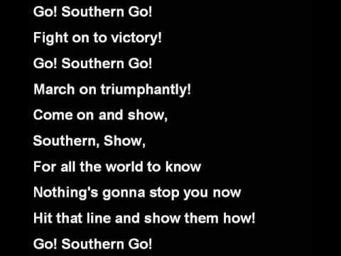 Southern Illinois University Salukis Fight Song
