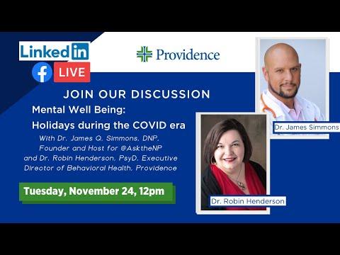 Mental Health Wellness: Holidays during the COVID era