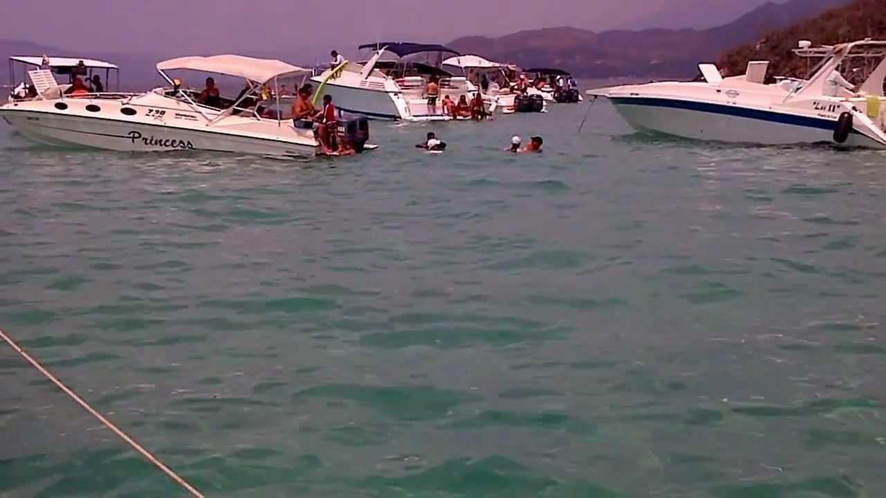 Playa piscina isla arapo youtube - Piscinas 7 islas ...