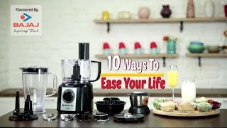 Food-o-holic - 10 ways to use a Food Processor