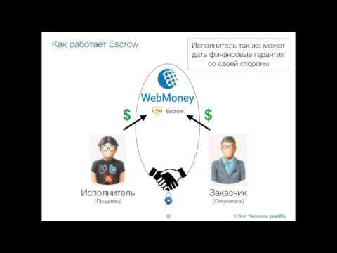 Безопасные сделки с Escrow