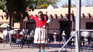 INDIGENOUS PEOPLES DAY 2019 - SANTA FE, NM - Christina Castro Song honoring MMIW