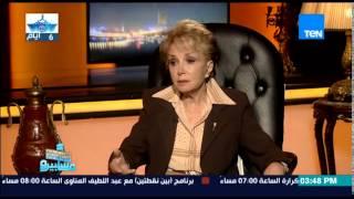 """سمير صبرى يوجه سؤال محرج للاعلامية """"ليلى رستم"""" على الهواء"""