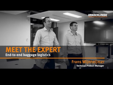 Meet the Expert vlog #4b | End-to-end baggage logistics: Intelligent software