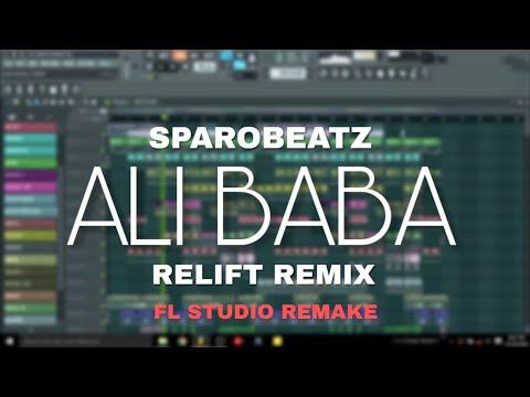 SparoBeatz -Ali Baba (Relift Remix) FL Studio Remake/Free FLP Download