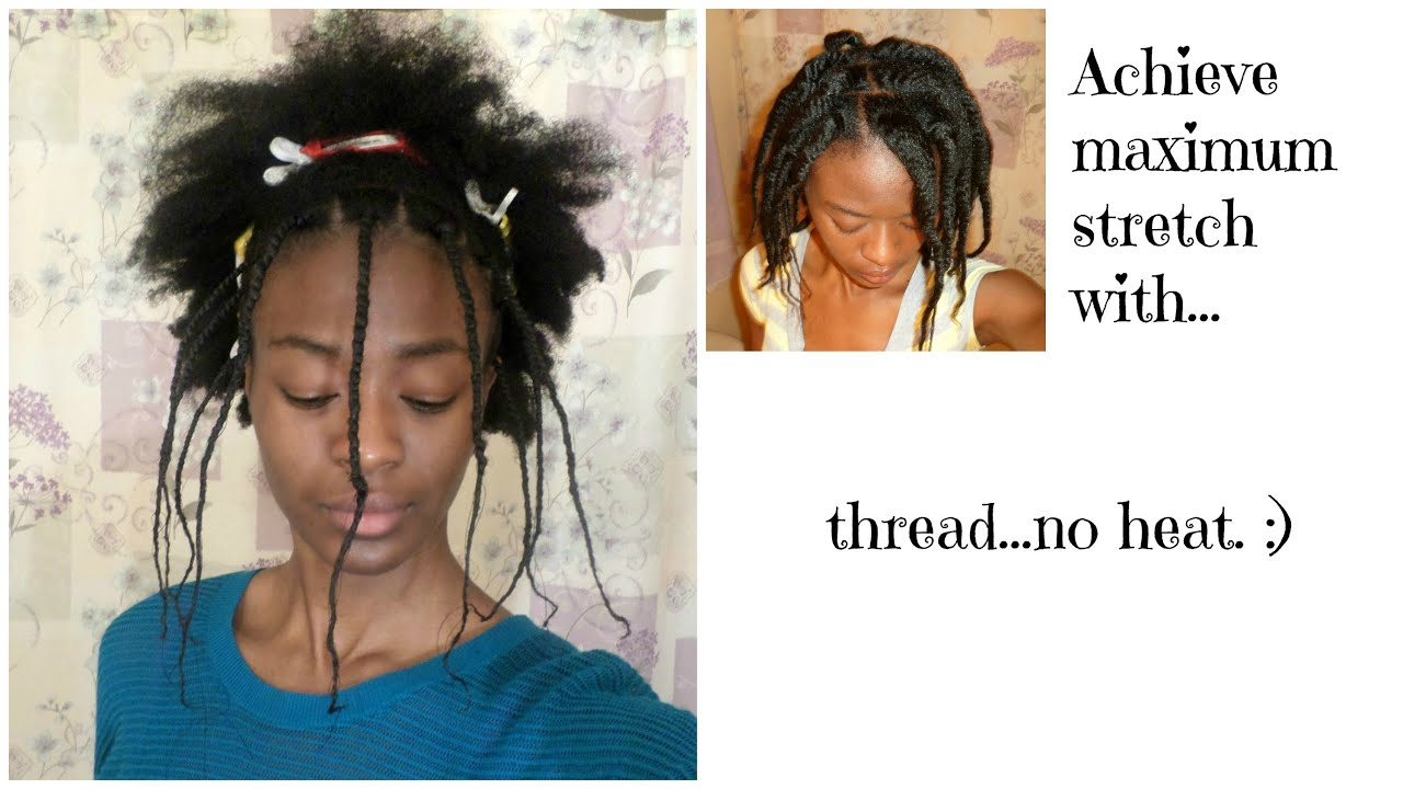 Combat Epic Shrinkage With African Hair Threading Youtube