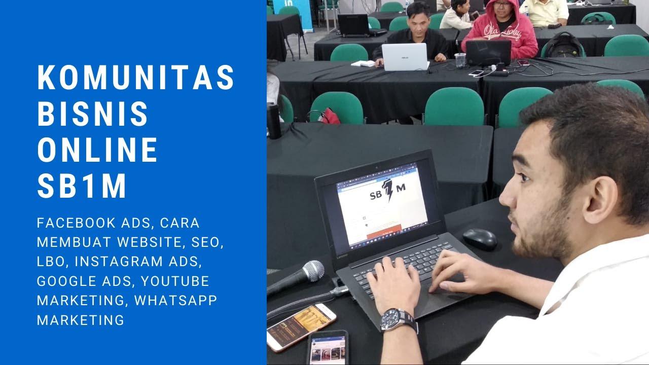 Pelatihan Bisnis Online Untuk Pemula di Jakarta - YouTube