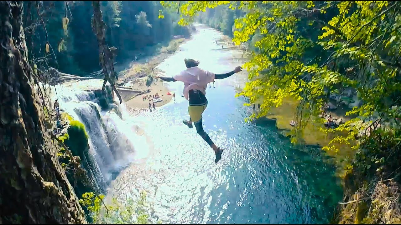 cliff-jumping-off-america-s-most-beautiful-waterfalls-pt1-4k