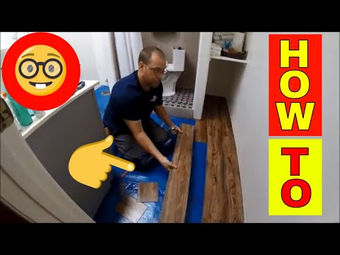 how to install shaws versalock vinyl plank flooring - youtube