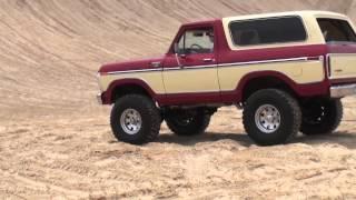 BRONCOS! BRONCOS! BRONCOS! at Silver Lake Sand Dunes