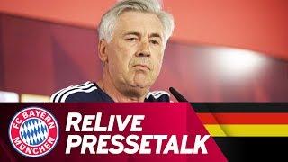 ReLive | Pressetalk mit Carlo Ancelotti & Willy Sagnol | FC Bayern