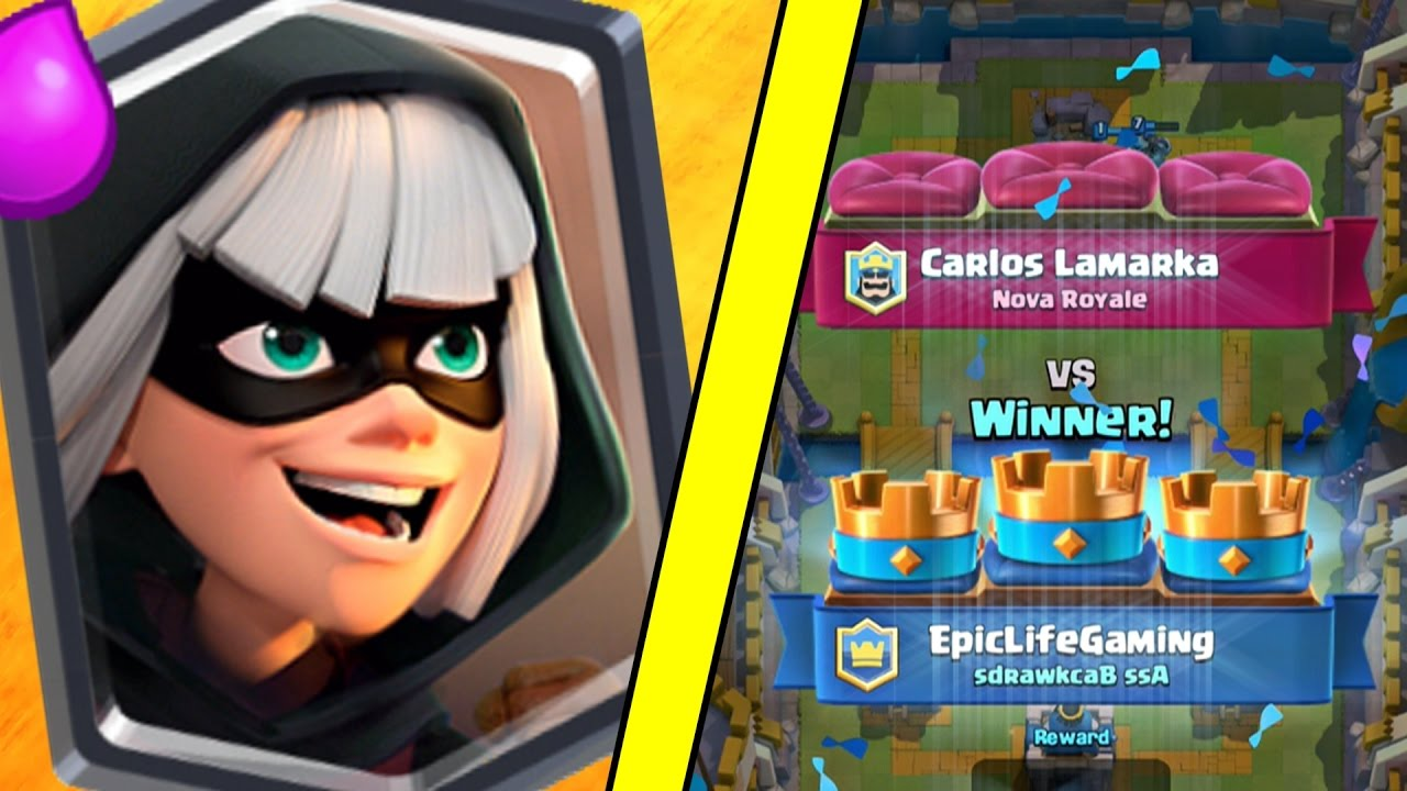 Clash Royale - BUYING *NEW* BANDIT! + AMAZING 3 Crown Bandit Deck! FAST PACED!