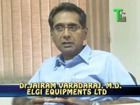 Mr.Jairam Varadaraj, MD, Elgi Equipments Limited