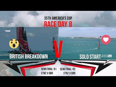 35th America's Cup: Race Day 8 Favourite Moments