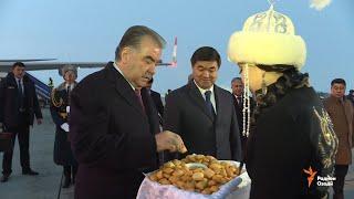Истиқболи Эмомалӣ Раҳмон дар Бишкек (бидуни шарҳ 28.11. 2019)