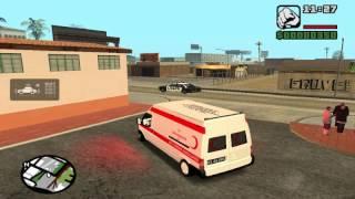 Gta SA 112 acil vaka çıkışı (Ambulans Mod)