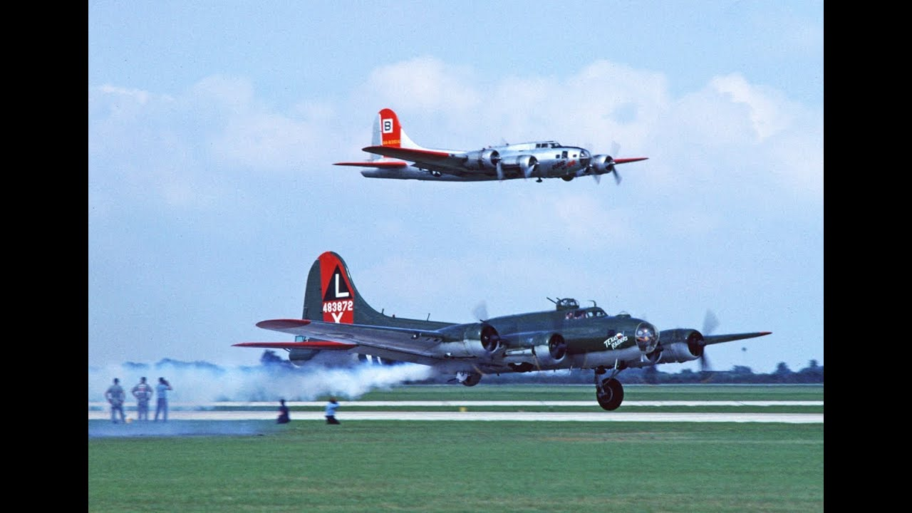 Vintage Confederate Air Force Air Show Images