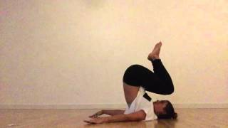 How to Yoga - Boat Pose for core to Plow Pose for sanity