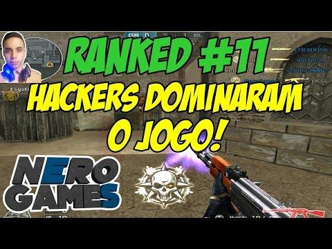 Crossfire AL: Ranked #11 - HACKERS DOMINARAM O JOGO!