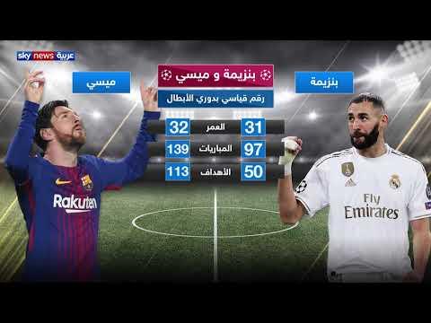 بنزيمة وميسي.. رقم قياسي في دوري الأبطال  - 18:54-2019 / 11 / 7