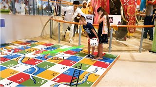 Museum for kids 2020 in Dubai. They pretend playing . Funny video