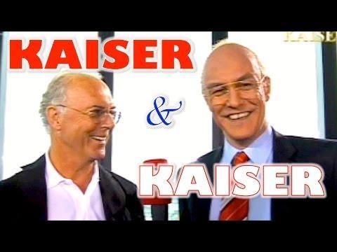 Beckenbauer trifft Beckenbauer