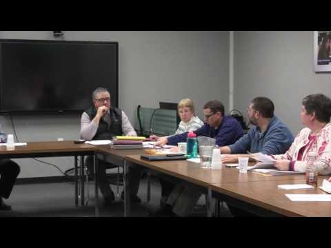 Hannaford Career Center Board Meeting 1/11/17